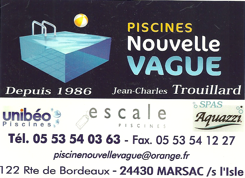 Piscines Nouvelle Vague